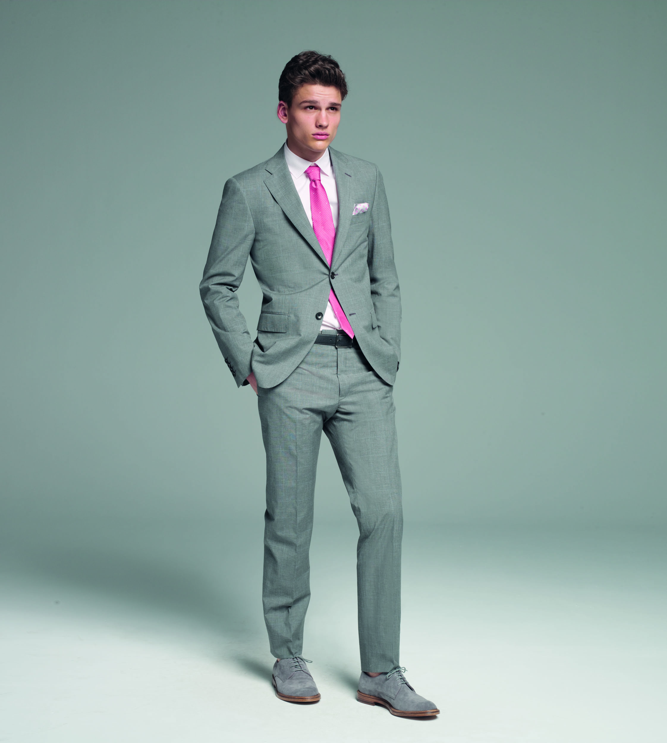 light grey suit light pink shirt the image kid has it. Black Bedroom Furniture Sets. Home Design Ideas