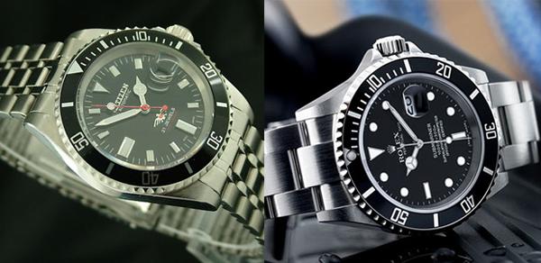 Citizen 7 Vs Rolex Submariner The Monsieur