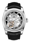 MILLESIME FLYING TOURBILLON, LARGE DATE, POWER RESERVE. Mouvement: Hand-wound movement, RD540  Production :28 pieces