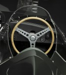 The Jaguar D-Type, like its predecessor the C-Type, was a factory-built race car.