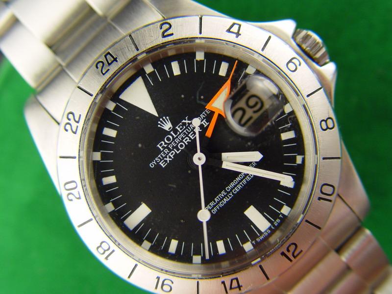 """Rolex Explorer II la """"mal-aimée"""" de la marque Rolex-1655-gmt-explorer-ii"""