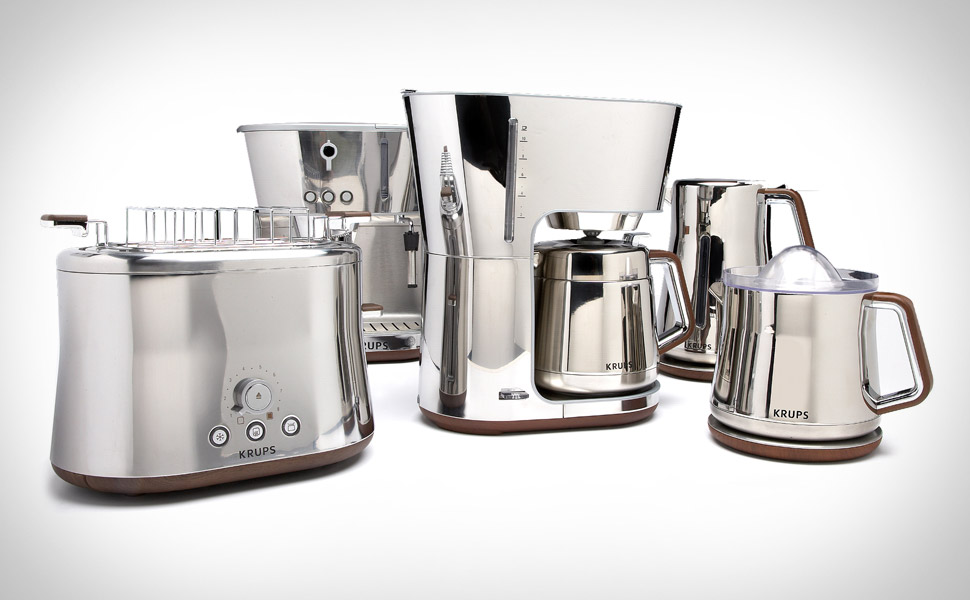 The Monsieur Endorses Krups Silver Art Collection The Monsieur
