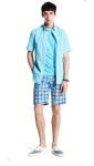 Cut & Sewn - Tomorrowland, Antique watch - Omega, Shirt - Individualised Shirts, Shorts - Mando, Shoes - Common Projects