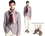 Jacket & Pants - Tomorrowland, Shirt - Finamore Sports, Stole - Arianna, Belt - Andrea Greco, Shoes - Fratelli Rossetti