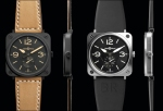 Bell & Ross BR S Heritage and BR S Steel
