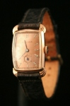 1940s Bulova art deco watch
