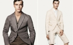 Uniqlo +J collaboration with Jil Sander makes suit cuts that fit the anglo saxon build better.