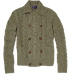 ralph lauren purple label double breasted knit mens cardigan 1
