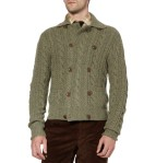 ralph lauren purple label double breasted knit mens cardigan 2