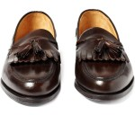 Ralph Lauren Purple Label Leather Tassel Loafers