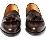 Ralph Lauren Purple Label Leather Tassel Loafers