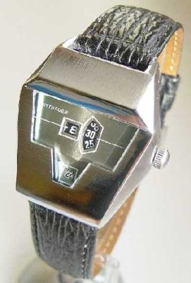 An affordable collector's alternative to the Kelek. Wittnauer digital with Tenor Dorly base movement
