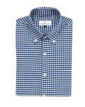 hentsch man summer 2011 collection sunday shirt navy gingham