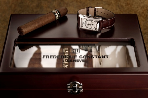 Frederique Constant and Cohiba Limited Edition Watch and Humidor