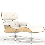 luxe investment herman miller-eames-white-ash lounge and ottoman 2