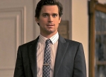 Calvin Klein suit, Dolce and Gabbana shirt, Hugo Boss tie, vintage tiebar  at Ilene Chazanof Decorative Arts, NYC- White Collar USA network