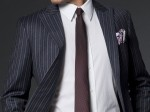White Collar Style with Indochino Cosmic Ray Pinstriped Suit