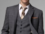 White Collar Style with Indochino The Giallo Three Piece plaid suit