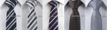 A good selection of neck ties can alter a suit to suit any mood (no pun intended)