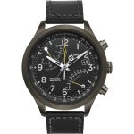 timex intelligent quartz t flyback chronograph black