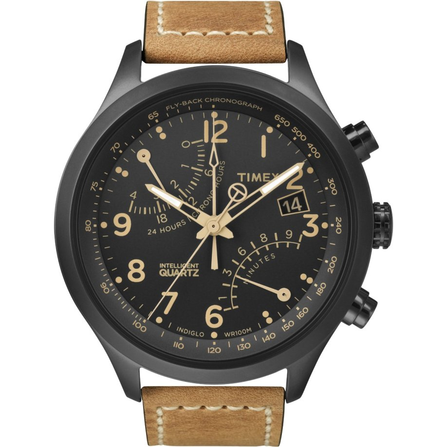 timex intelligent quartz t flyback chronograph sand