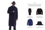chalky white style - five ways to wear a coat 5