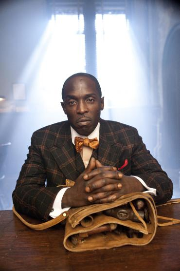 The dapper Chalky White