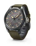 The Top Gun Miramar Big Pilot is seriously BIG. A 48-millimetre ceramic case with titanium crown. Fully wound, expect 7 days power reserve.