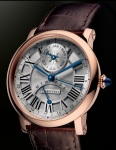 the monsieur cartier-rotonde-perpetual-calendar-pink-gold-watch