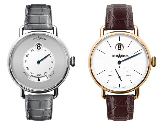 bell & ross the vintage ww1 heure sautante collection