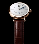 bell & ross the vintage ww1 heure sautante in pink gold