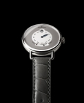 bell & ross the vintage ww1 heure sautante in platinum