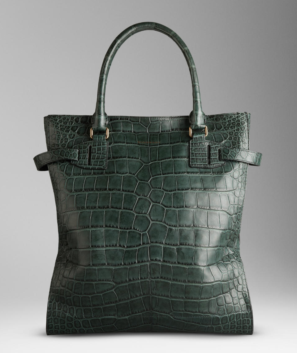 ac41353294eb burberry bags shoes accessories-ss2012 alligator tote