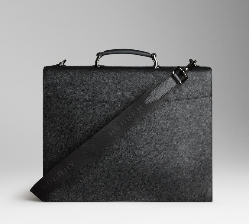 burberry bags shoes accessories-ss2012 leather crossbody briefcase 2