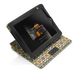 Palatina iPad case in black with mosaic exterior