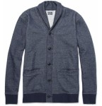 travel light yet heavy on style- J crew shawl collar cotton blend cardigan