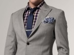 Essential grey blazer from Indochino