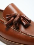 travel light yet heavy on style- Mr Hare Cognac Loafers 2