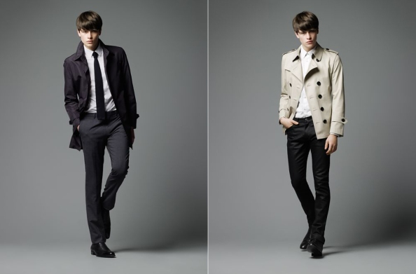 menswear 2012 burberry black label spring summer