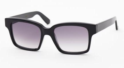 Australian Designer Graz CPS black sunglasses