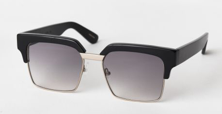 Australian Designer Graz Sunglasses Otis Black and Gold