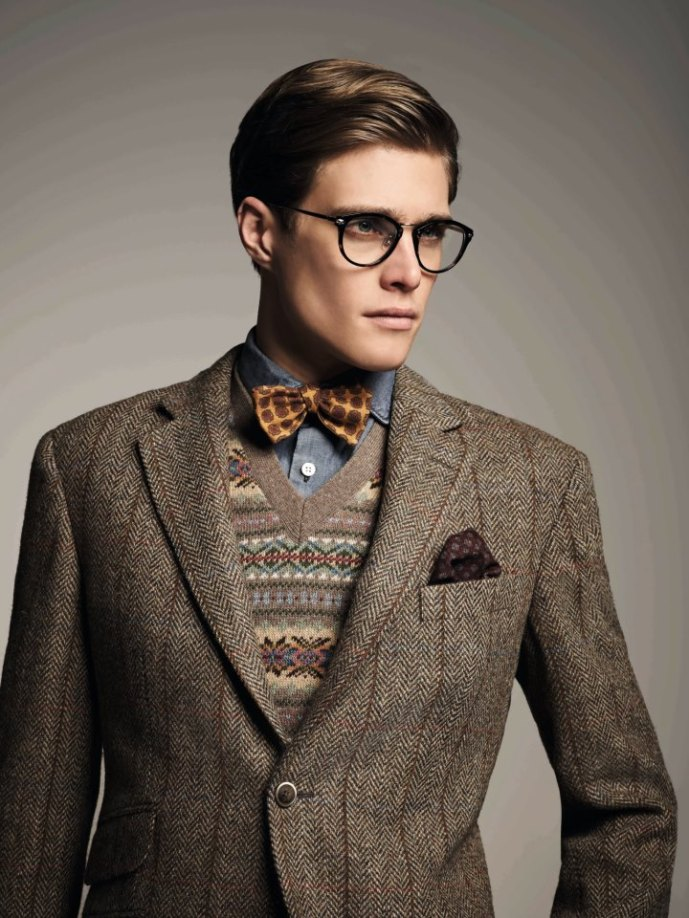 Tweed Jacket Men Fashion Blog