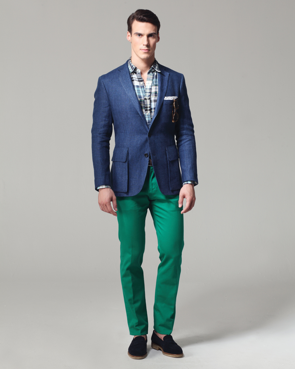 Menswear 2013: Ovadia & Sons Spring Summer Collection ...