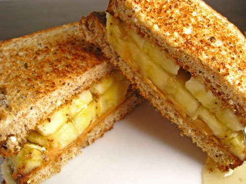 While immensely delicious, just avoiding a combination of the two in a sandwich. Or worse, FRIED in sandwich form.