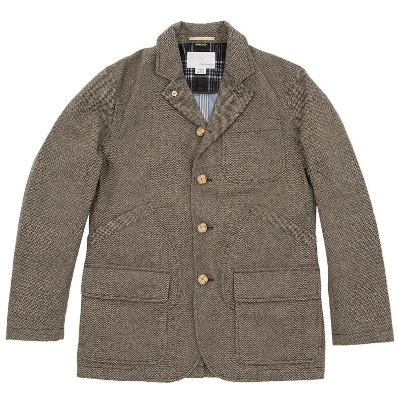 The best travel jackets nanamica field jacket and massif officer coat