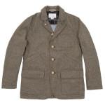 Nanamica Gore-Tex Field Jacket in Beige Herringbone