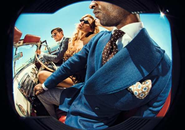 SuitSupply Spring Summer 2013 campaign looks