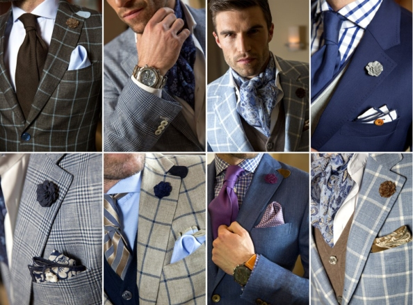 Lowet Blizen Spring Summer 2013 menswear collection- classic checks feature heavily as per this season's trends.