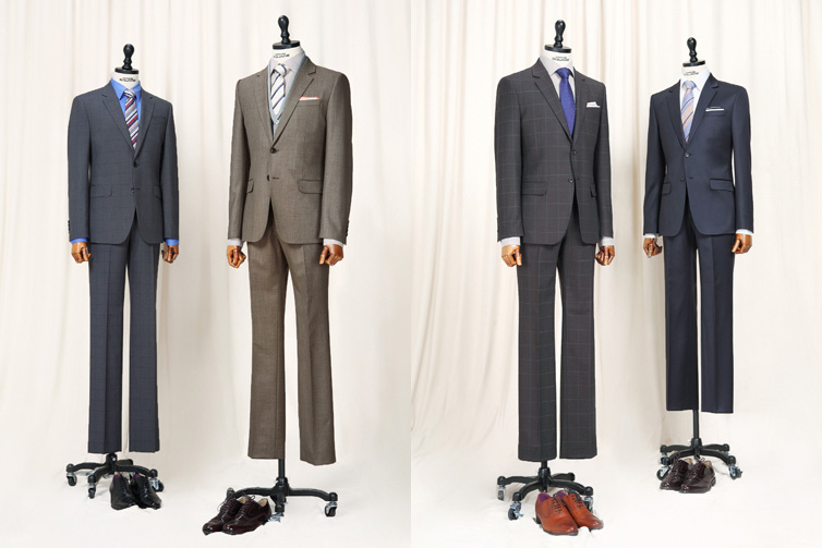 Comodo Square Korea does pretty nifty formal men's suits as well. A suit isn't something you only wear on formal occasions. Remember- break it up and pair it down.