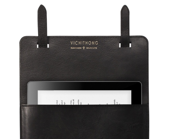 Ash Ipad case in Black Croco is the case that radiates luxury.